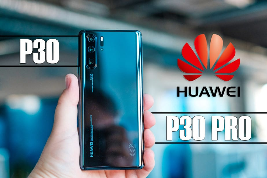 Huawei P30 and P30 Pro, smartphones