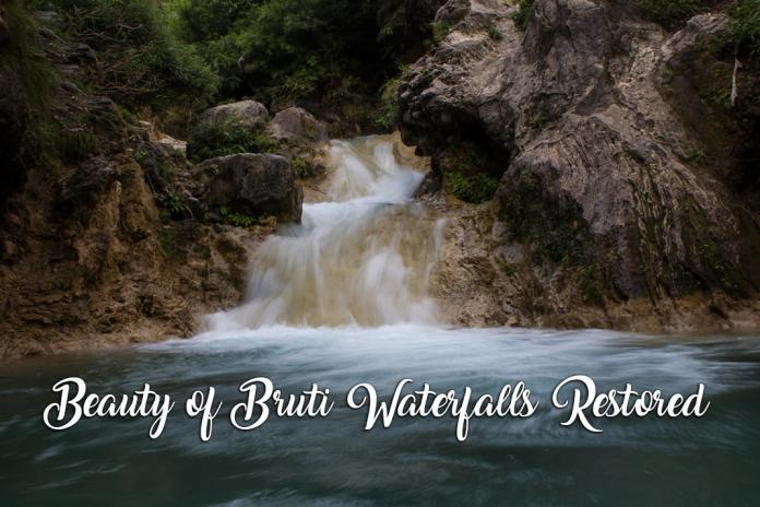 Bruti waterfall, environment-friendly tourism, Green squad