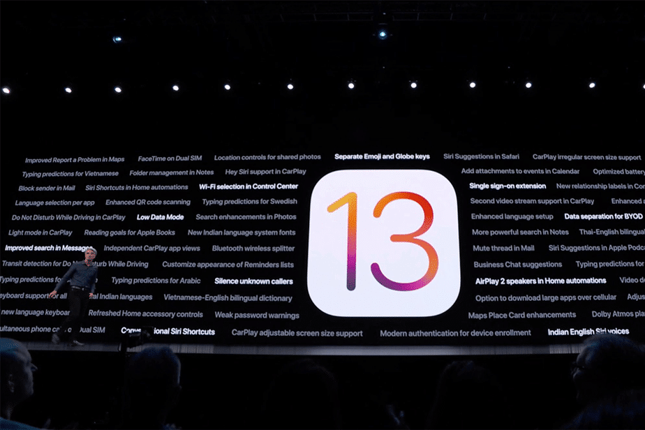 iOS 13, 5 new features
