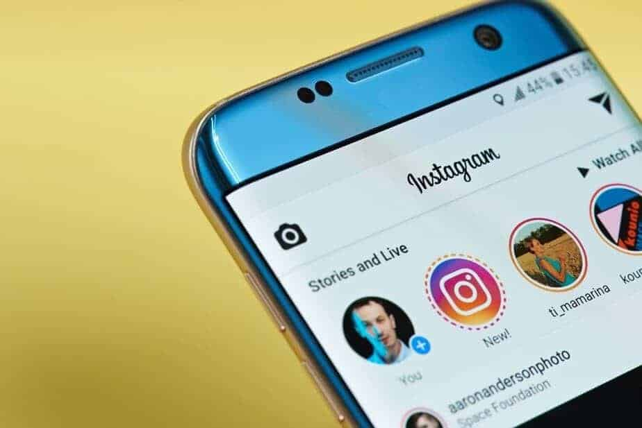 Instagram account, new Instagram policy
