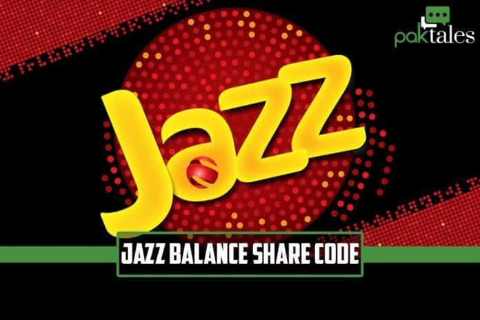 Jazz balance share code, jazz balance share new method, jazz share balance