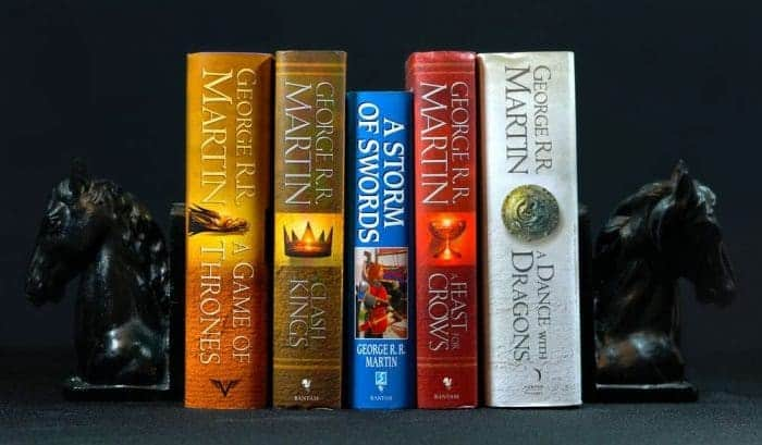 A Song Of Ice And Fire, Game Of Thrones, George R. R. Martin, best books 2018, famous authors today