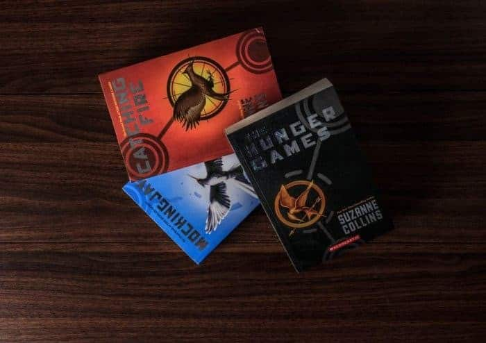 The Hunger Games, Mockingjay, Catching fire, Suzanne Collins, book club books recommendations, famous authors today