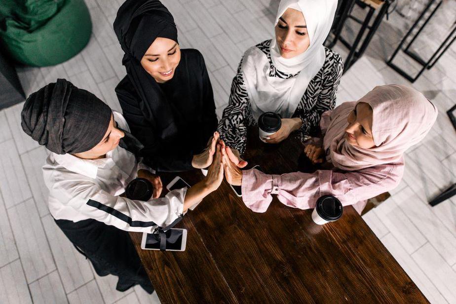 How to tie a headscarf, headscarf, Muslim women