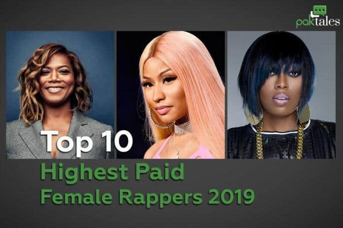 nicki minaj, richest female rapper, queen latifah, iggy azalea, highest paid female rapper