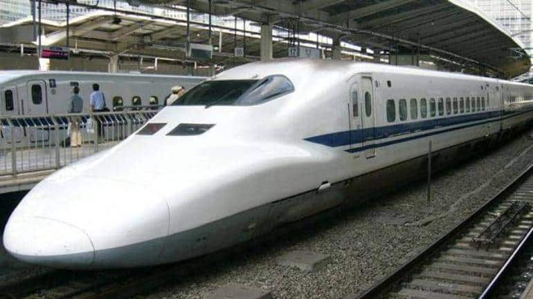 bullet train in india map