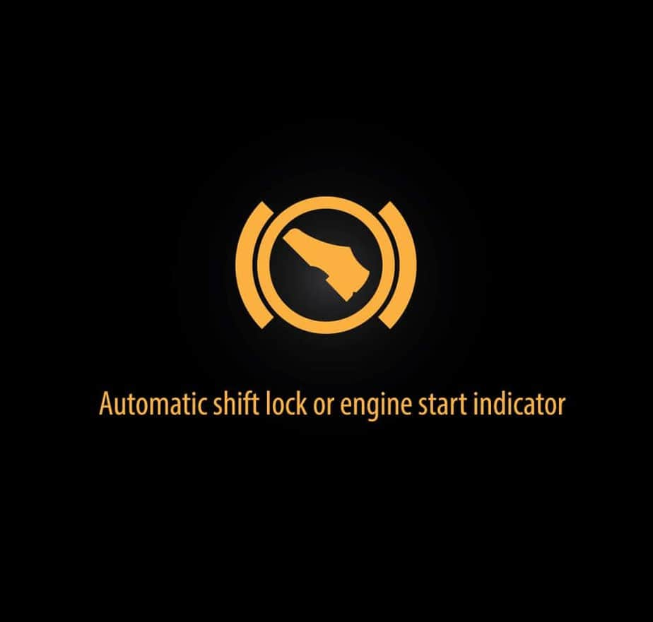 Automatic shift lock