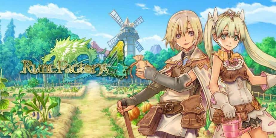 stardew valley like games, Rune Factory 4