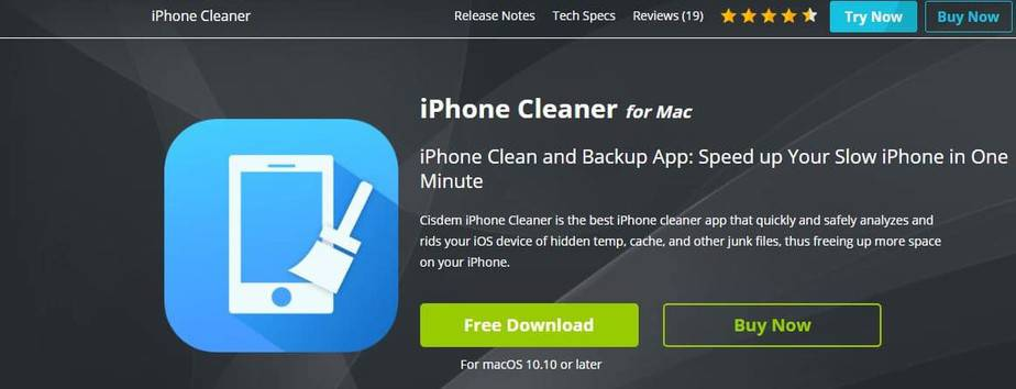 iphone app cleaning
