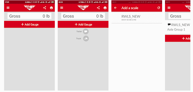 weighing scales app
