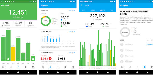 best pedometer for android