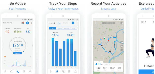 pedometer app for android