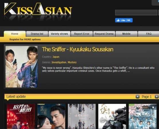 Korean drama sites