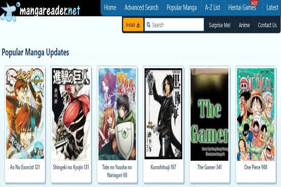 manga reading sites
