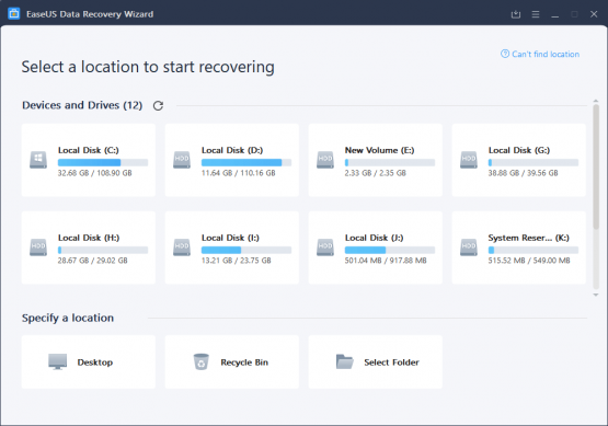 how to use easeus data recovery
