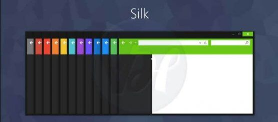 Window themes skin